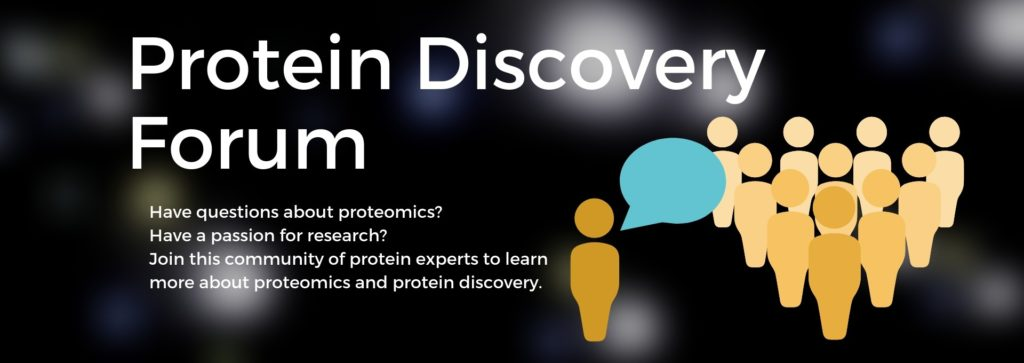 Protein Discovery Forum