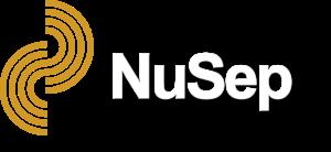 NuSep Logo - white